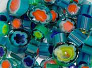 Glass Millefiori for warm glass projects